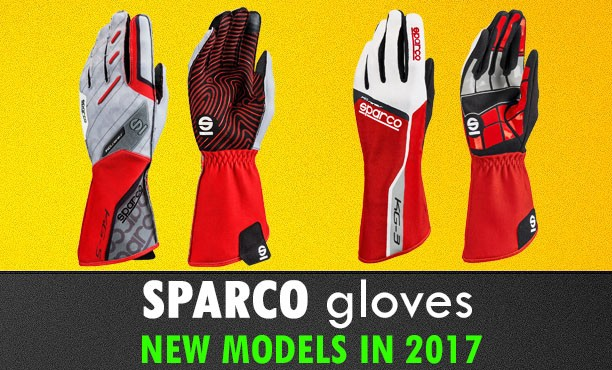 Sparco karting gloves